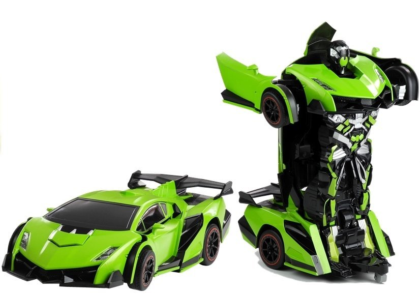 rc roboter auto umwandlung wie transformers fernbedienung autobot spielzeug r c spielzeug. Black Bedroom Furniture Sets. Home Design Ideas