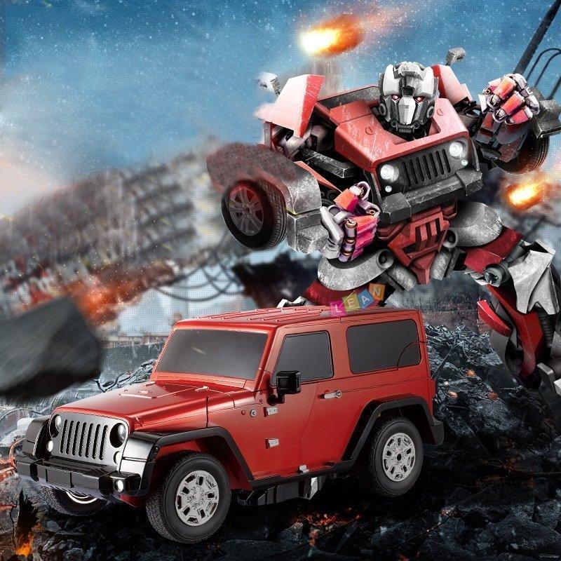 Rc roboter auto umwandlung wie transformers fernbedienung