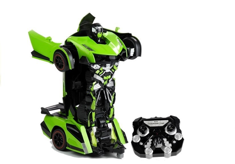 rc roboter auto umwandlung wie transformers fernbedienung autobot spielzeug spielzeug r c. Black Bedroom Furniture Sets. Home Design Ideas