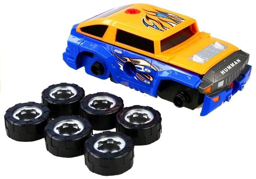 roboter mit dem auto zum schrauben bohrmaschine set spielzeug spielzeug werkst tten. Black Bedroom Furniture Sets. Home Design Ideas