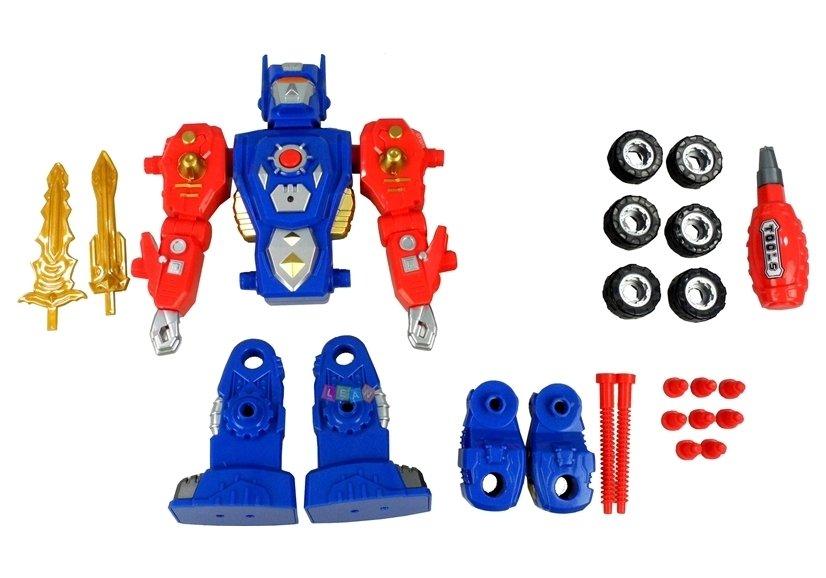 Set zum schrauben roboter spielzeug