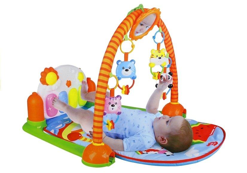 spieldecke lerndecke krabbeldecke set spielzeug f r baby 4 bunte rasseln spielzeug f r babys. Black Bedroom Furniture Sets. Home Design Ideas