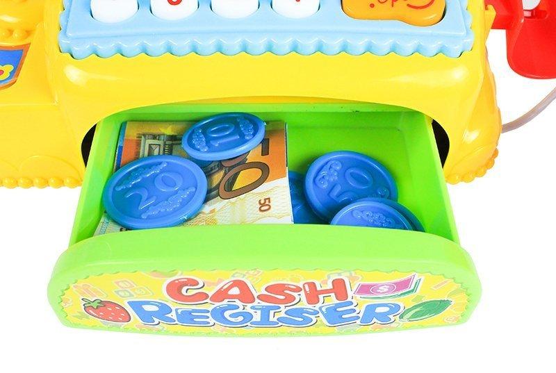 Spielkasse mit zubehör kasse für kinder kinderkasse