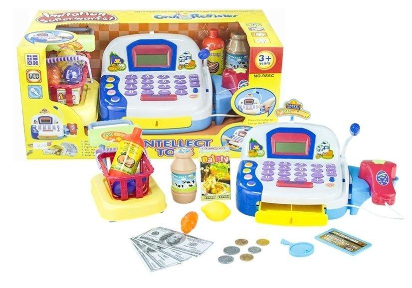 Spielkasse mit zubehör mikro kasse kinderkasse