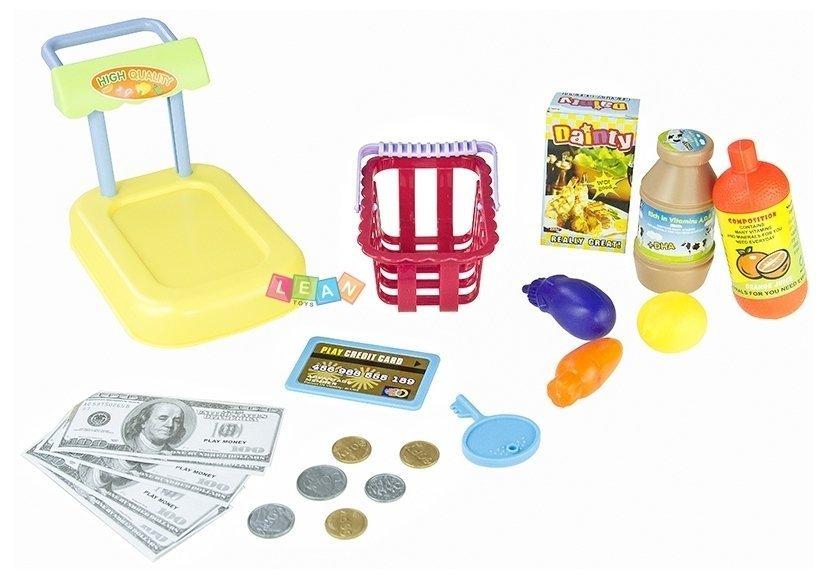 spielkasse mit zubeh r mikro kasse f r kinder kinderkasse registrierkasse spielzeug k che. Black Bedroom Furniture Sets. Home Design Ideas