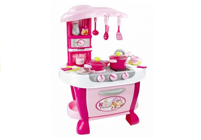 spielk che licht kinderk che realit tsnah vielf ltiges zubeh r spielzeug rosa spielzeug. Black Bedroom Furniture Sets. Home Design Ideas