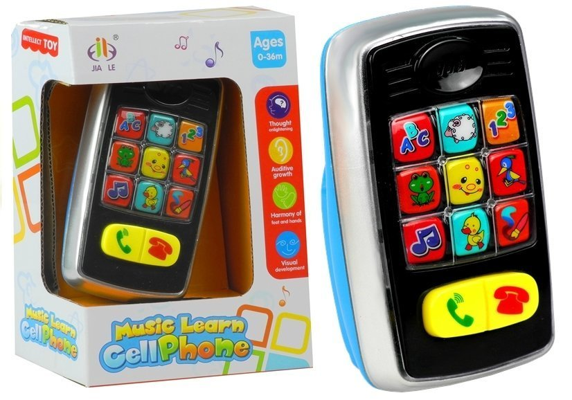 Spieltelefon handy für kinder melodien geräusche blinkende