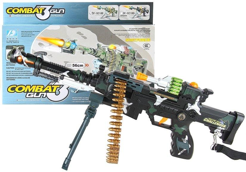 Spielzeug gewehr spielzeugpistole sound und licht