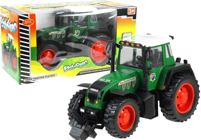 Traktor farben spielzeug fahrzeug für kinder