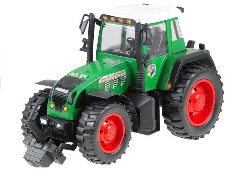 traktor 2 farben spielzeug fahrzeug spielzeug f r kinder ab 3 jahren gr n spielzeug. Black Bedroom Furniture Sets. Home Design Ideas