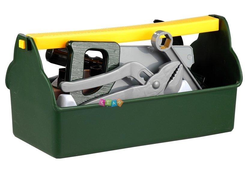 Werkzeugkasten für kleinen heimwerker set werkzeuge hammer