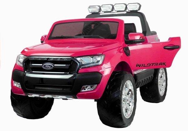 elektroauto f r kinder ford ranger rosa fm radio 4x45w 2. Black Bedroom Furniture Sets. Home Design Ideas