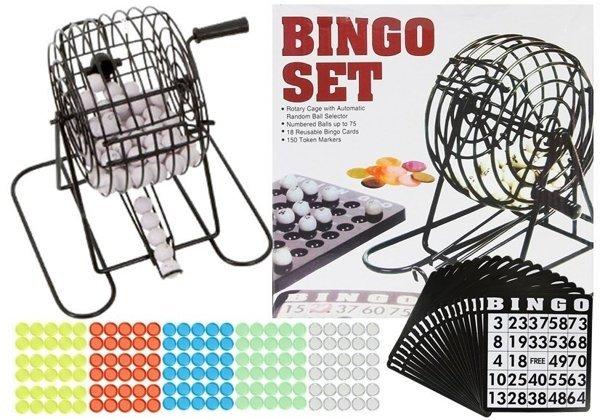 Bingo Spiel Mit Trommel