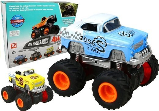 auto monster truck 4x4 r der soundeffekte gr n spielzeug f r kinder 3 auto spielzeug autos. Black Bedroom Furniture Sets. Home Design Ideas