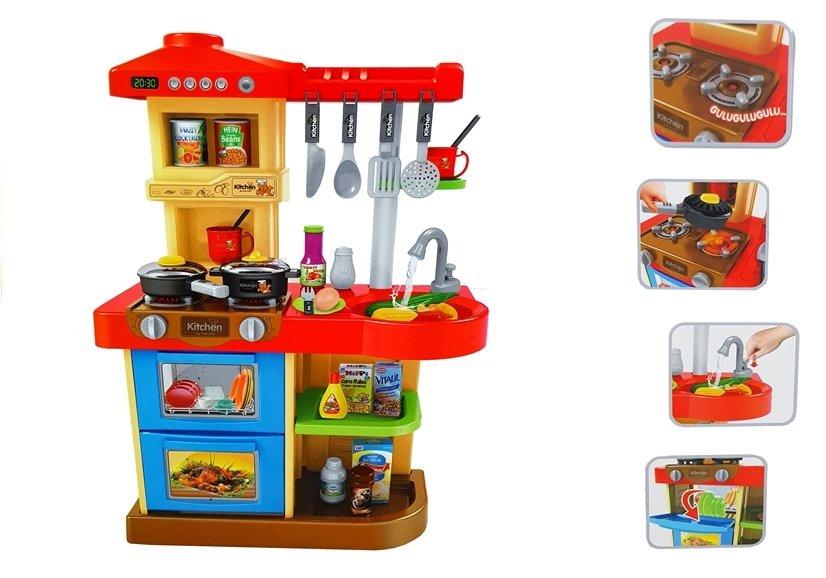 Dětská elektronická zvuková kuchyňka Chef s oběhem vody
