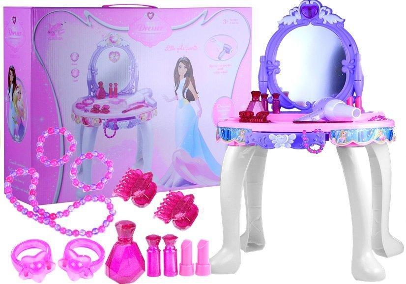 Dětský toaletní stolek s příslušenstvím