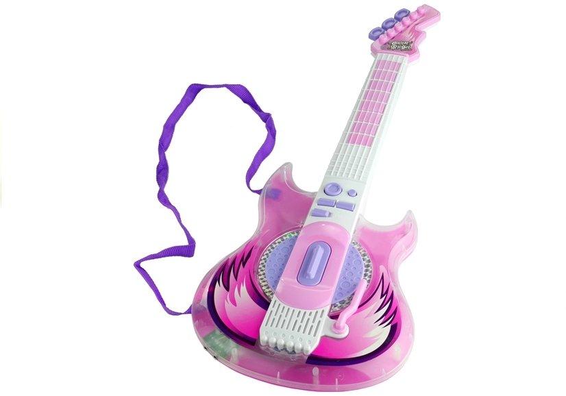 Dětská elektrická kytara - brýle s mikrofonem