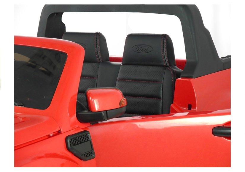elektroauto f r kinder ford ranger eva reifen rot 4x4 auto. Black Bedroom Furniture Sets. Home Design Ideas