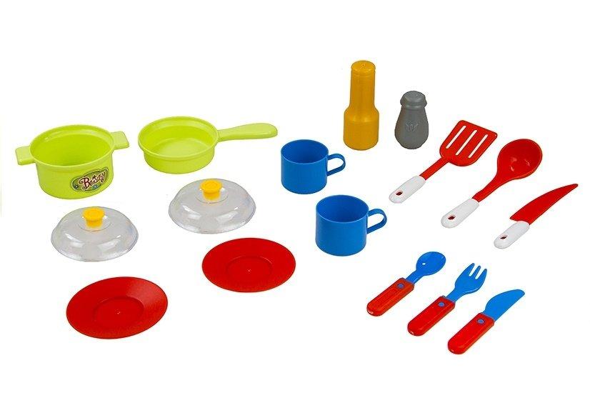 Dětská elektronická kuchyňka - Modrá
