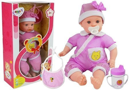 Doll Baby 45 cm Pink Clothing
