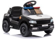 Electric Ride On Police Car CH9958A Black