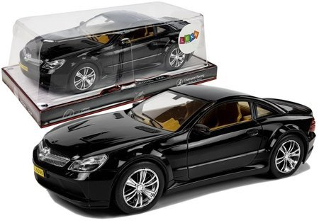 Racing Car with Tension 1:18 Black
