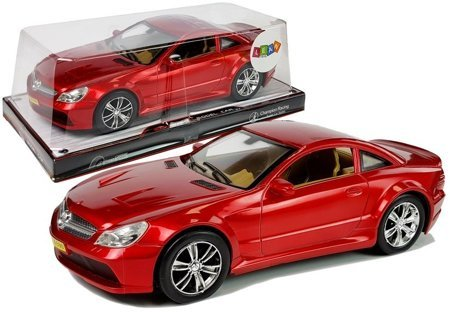 Racing Car with Tension 1:18 Red