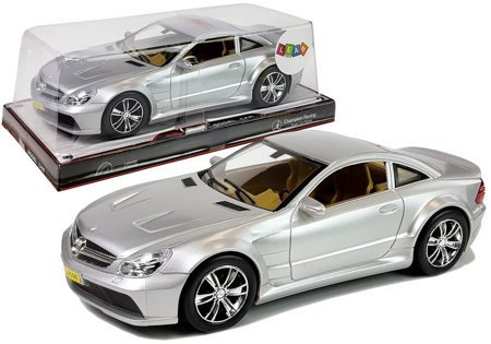 Racing Car with Tension 1:18 Silver