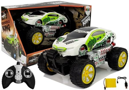 Remote Controlled Car 1:16 R/C Off-road Car White