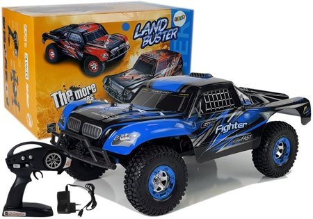 Remote Controlled Car FY-01 4x4 Pick Up 1:12 R/C 40 km/h Blue