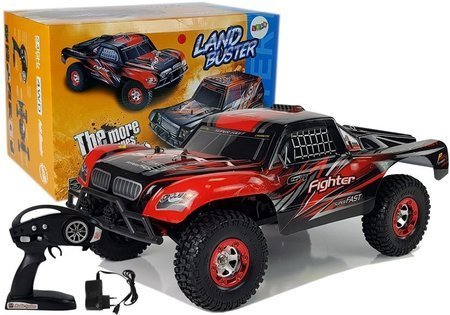Remote Controlled Car FY-01 4x4 Pick Up 1:12 R/C 40 km/h Red