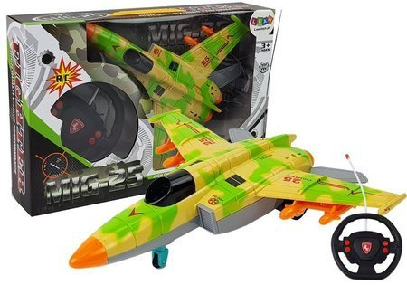 Remote Controlled Plane 26 cm Green