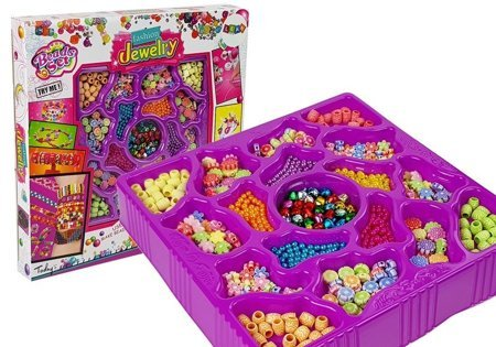 Set for Jewelry Bracelets Beads 600 Pieces