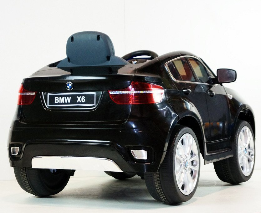 Bmw X6 Black Painting Electric Ride On Car Electric