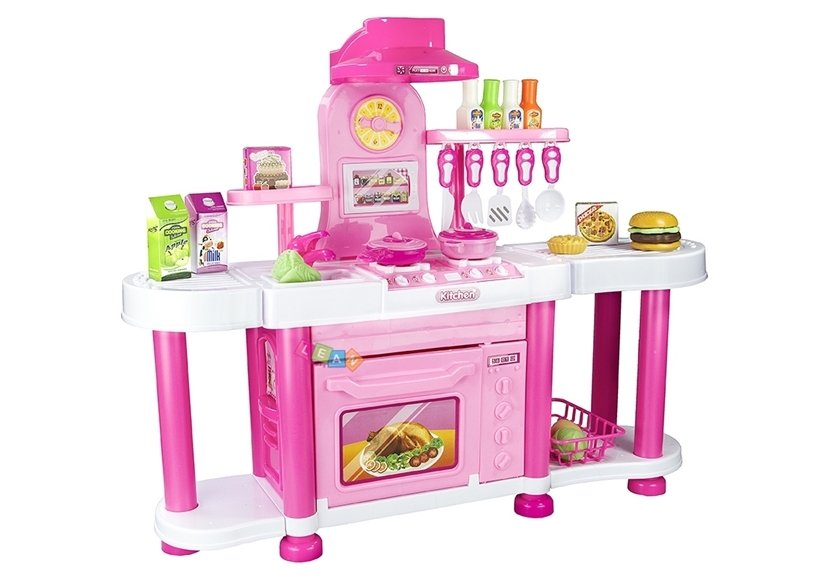 Just Like Home Toy Set : Big realistic roleplay kitchen set just like home toys household