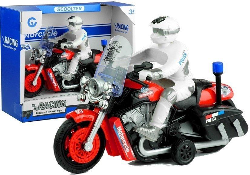 Motorbike Police Bike Mobile Wheels Sound & Light Effects