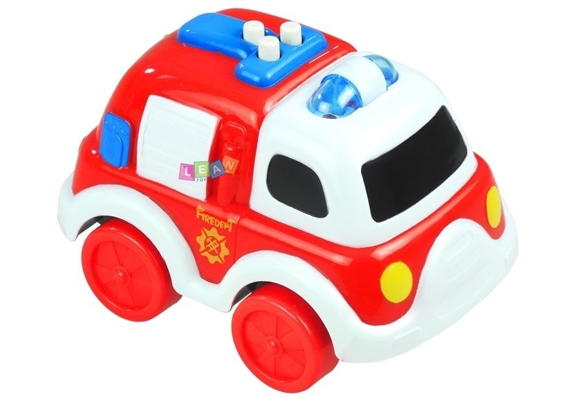 Emergency Vehicles Play Set - Ambulance Police Car Fire