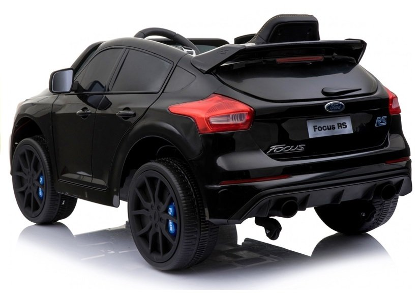 Ford Focus Rs Black Painting Electric Ride On Car