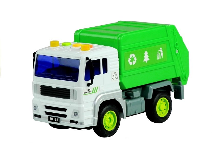 Garbage Truck Toy - with Sounds & Movable Elements | Toys