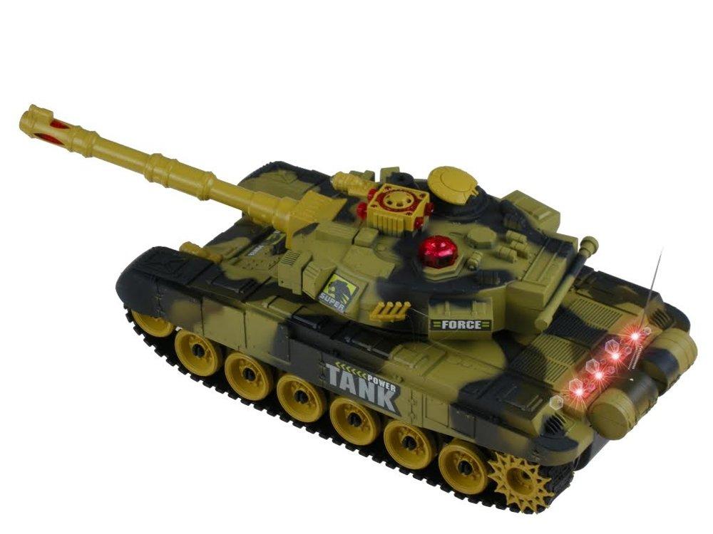 INFRARED RC BATTLE TANK 26cm 2 colors | Toys \ R/C vehicles |