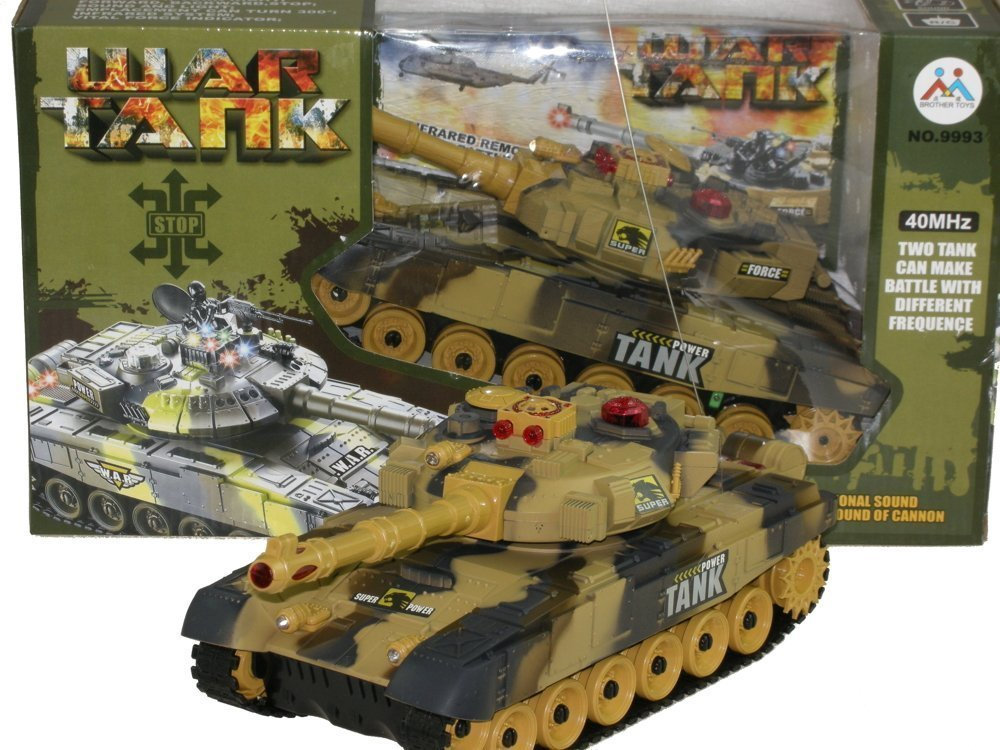 INFRARED RC BATTLE TANK 26cm 2 colors | Toys \ R/C vehicles |