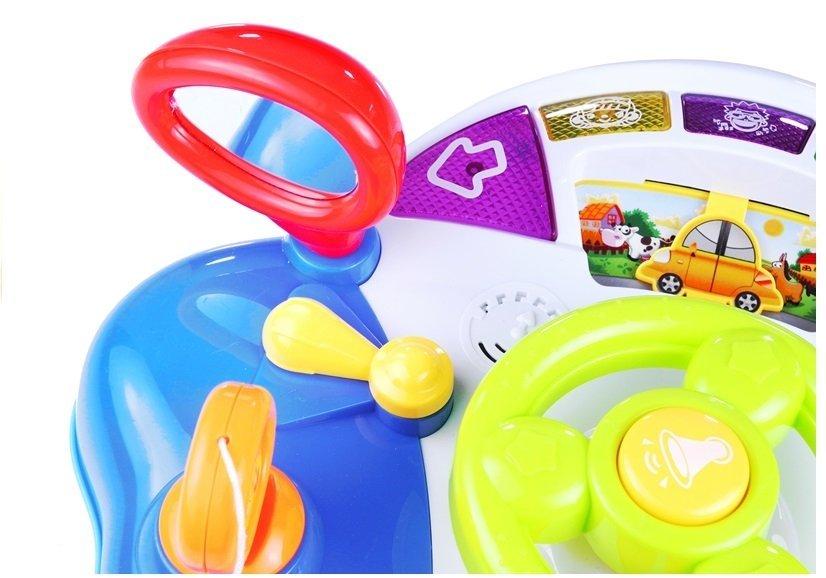 Interactive Steering Wheel For Children Dashboard Sounds ...