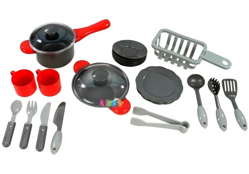 Kids Childrens Kitchen Set with Accessories | Toys \ Household ...
