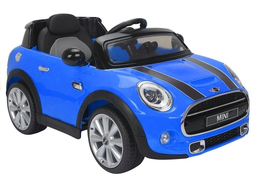 Kids Electric Ride On Car Licensed Blue Mini Cooper 2 X 45w Remote Control Electric Ride On Vehicles Cars