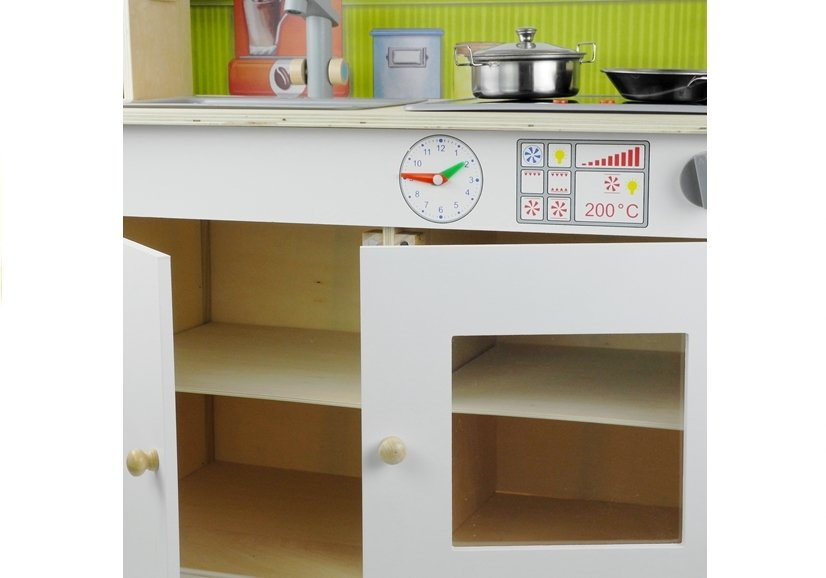 Phenomenal Wooden Kitchen Meggie White With Accessories Wooden Toys Home Interior And Landscaping Ferensignezvosmurscom