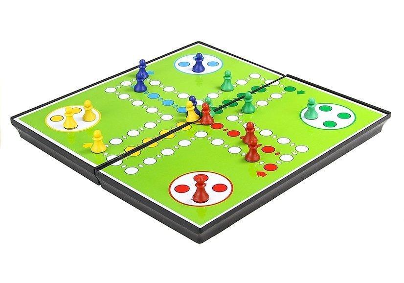 Magnetic Game Board Set 7 in 1 Chess Ludo Backgammon