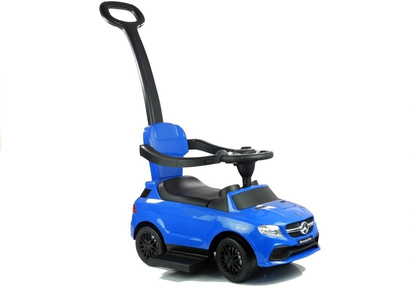 Toddlers Ride On Push Along Childrens Kids Car 2 Colors Detachable