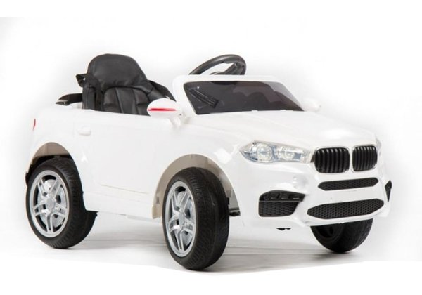 HL1538 White - Ride On Car