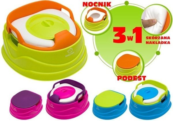 3 in 1 Potty Training Seat Soft Comfortable With Cover Easy To Clean