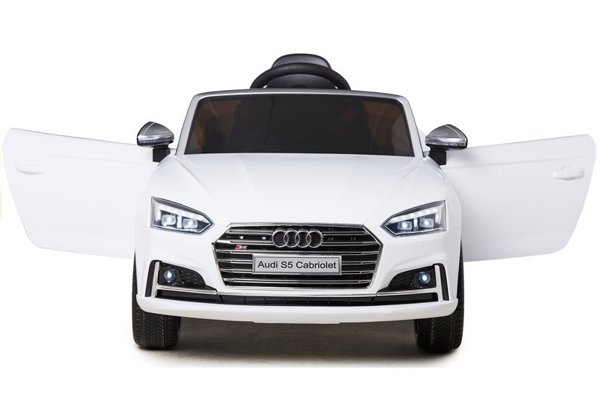 Audi S5 NEW White - Electric Ride On Vehicle
